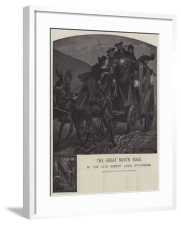 Illustration for the Great North Road-Richard Caton Woodville II-Framed Giclee Print