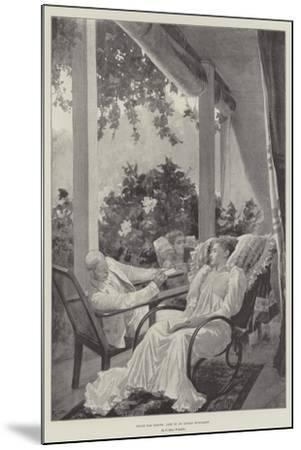 Dolce Far Niente, Life in an Indian Bungalow-Richard Caton Woodville II-Mounted Giclee Print