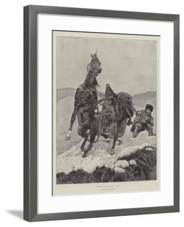 In the Nick of Time-Richard Caton Woodville II-Framed Giclee Print