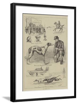 The Waterloo Cup-S^t^ Dadd-Framed Giclee Print