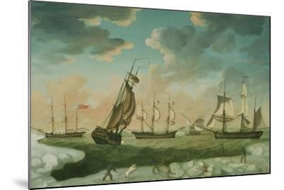 Arctic Scene-Robert Willoughby-Mounted Giclee Print