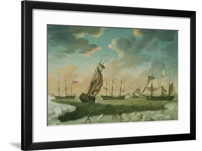 Arctic Scene-Robert Willoughby-Framed Giclee Print