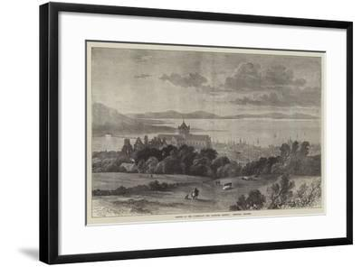 Opening of the Sutherland and Caithness Railway, Kirkwall, Orkneys-Samuel Read-Framed Giclee Print