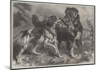 The First Grouse of the Season-Samuel John Carter-Mounted Giclee Print