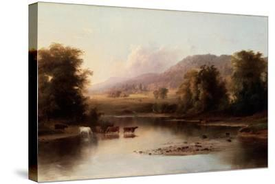 View of the St. Anne's River, 1870-Robert Scott Duncanson-Stretched Canvas Print