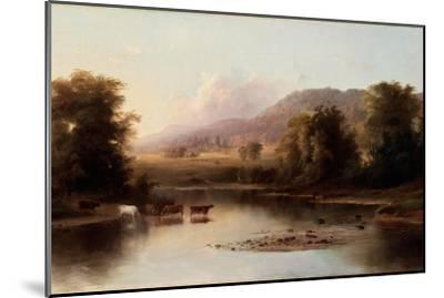View of the St. Anne's River, 1870-Robert Scott Duncanson-Mounted Giclee Print