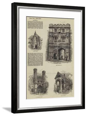Canterbury-Samuel Read-Framed Giclee Print