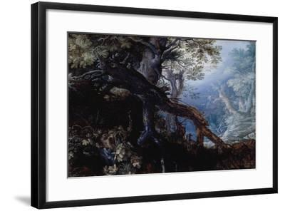 Forest with Deer, C.1608-10-Roelandt Jacobsz^ Savery-Framed Giclee Print