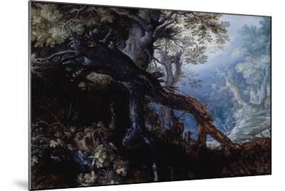 Forest with Deer, C.1608-10-Roelandt Jacobsz^ Savery-Mounted Giclee Print