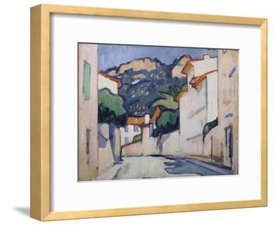 Streetscene, Cassis, C.1913-Samuel John Peploe-Framed Giclee Print