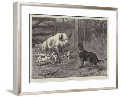 Obstructionists-S^t^ Dadd-Framed Giclee Print