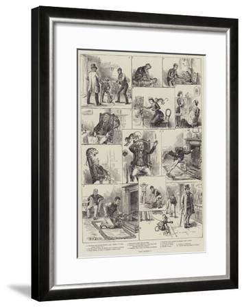 That Monkey!-S^t^ Dadd-Framed Giclee Print