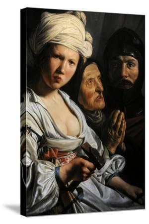 Jael, Deborah and Barak, 1635-Salomon de Bray-Stretched Canvas Print