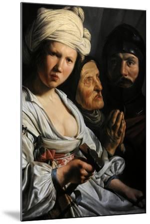 Jael, Deborah and Barak, 1635-Salomon de Bray-Mounted Giclee Print