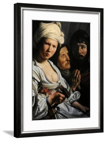 Jael, Deborah and Barak, 1635-Salomon de Bray-Framed Giclee Print
