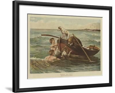 Young Sea Dogs-Samuel Edmund Waller-Framed Giclee Print