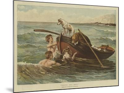 Young Sea Dogs-Samuel Edmund Waller-Mounted Giclee Print