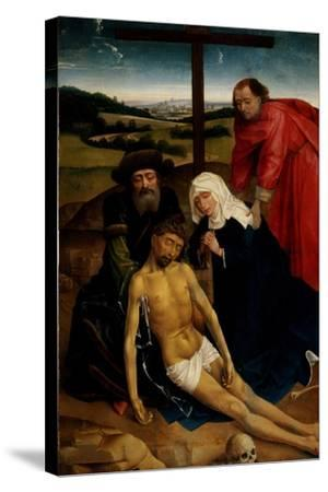 The Lamentation of Christ, C.1460-75-Rogier van der Weyden-Stretched Canvas Print