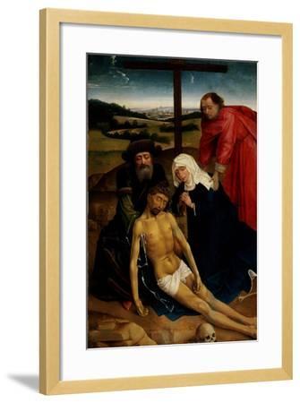 The Lamentation of Christ, C.1460-75-Rogier van der Weyden-Framed Giclee Print