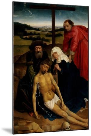 The Lamentation of Christ, C.1460-75-Rogier van der Weyden-Mounted Giclee Print