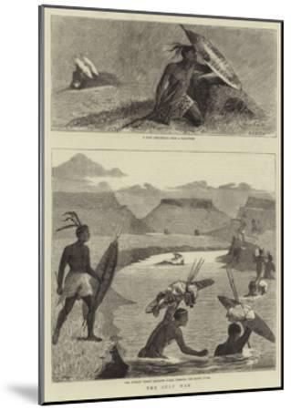 The Zulu War-Samuel Edmund Waller-Mounted Giclee Print