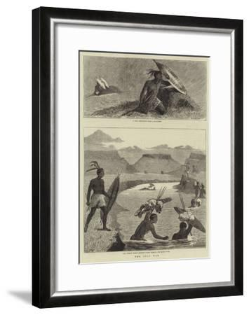 The Zulu War-Samuel Edmund Waller-Framed Giclee Print