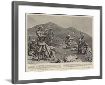 With the Kurram Field Force, Gurkha Picket at Dawaba, One of the Most Advanced Posts Yet Occupied-S^t^ Dadd-Framed Giclee Print