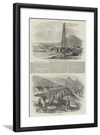 The Navvies at Balaclava-Robert Thomas Landells-Framed Giclee Print