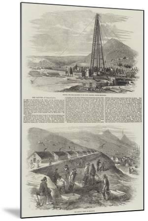 The Navvies at Balaclava-Robert Thomas Landells-Mounted Giclee Print