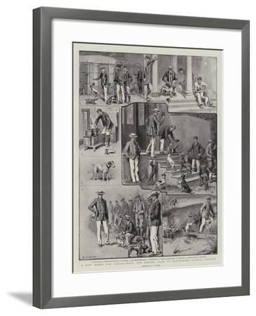 A New Hobby for School-Boys, the Kennel Club at Clayesmore School, Enfield-S^t^ Dadd-Framed Giclee Print