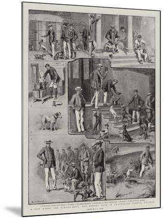 A New Hobby for School-Boys, the Kennel Club at Clayesmore School, Enfield-S^t^ Dadd-Mounted Giclee Print