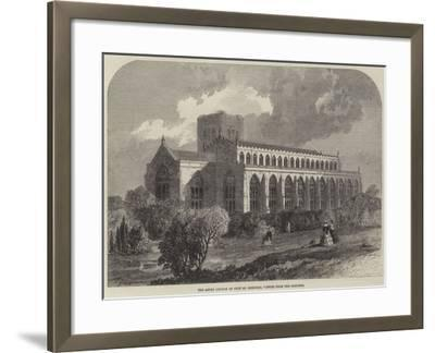 The Abbey Church of Bury St Edmunds, Viewed from the Gardens-Samuel Read-Framed Giclee Print