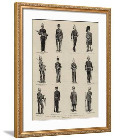 Colonial Troops Who Took Part in the Jubilee Procession-S^t^ Dadd-Framed Giclee Print