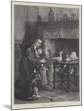 His Comforters-Robert Morley-Mounted Giclee Print
