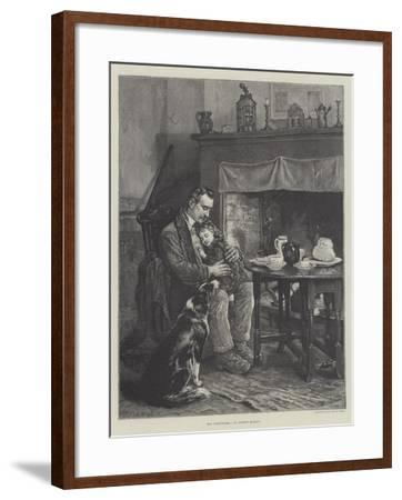 His Comforters-Robert Morley-Framed Giclee Print