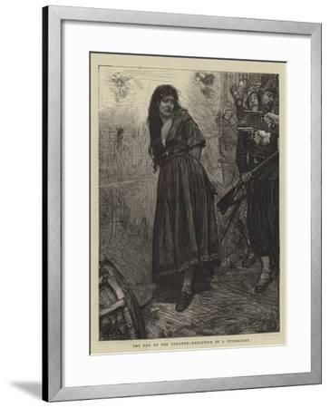The End of the Commune, Execution of a Petroleuse-Robert Walker Macbeth-Framed Giclee Print