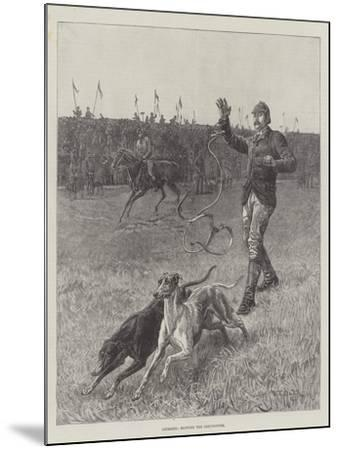 Coursing, Slipping the Greyhounds-S^t^ Dadd-Mounted Giclee Print