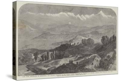 View from Darjeeling of Deodhunga-Samuel Read-Stretched Canvas Print