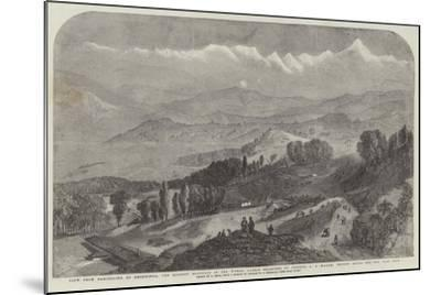View from Darjeeling of Deodhunga-Samuel Read-Mounted Giclee Print