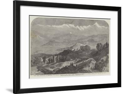 View from Darjeeling of Deodhunga-Samuel Read-Framed Giclee Print