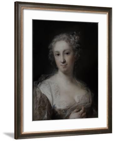 Portrait of a Lady, C.1730-40-Rosalba Giovanna Carriera-Framed Giclee Print
