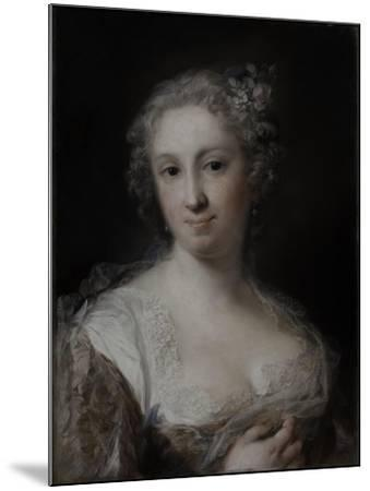 Portrait of a Lady, C.1730-40-Rosalba Giovanna Carriera-Mounted Giclee Print