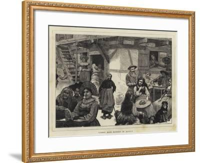 Human Hair Market in Alsace-Robert Walker Macbeth-Framed Giclee Print