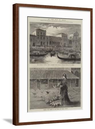 On the Way to India-Samuel Edmund Waller-Framed Giclee Print