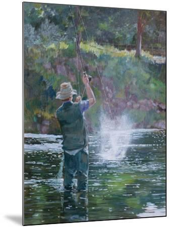 Fly Fishing-Rosemary Lowndes-Mounted Giclee Print