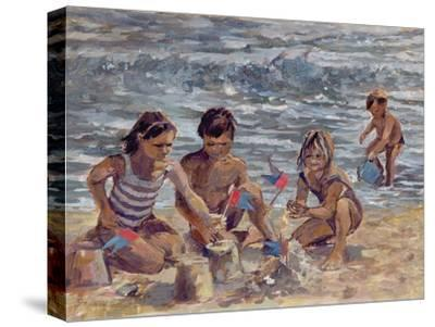 Trouville-Rosemary Lowndes-Stretched Canvas Print