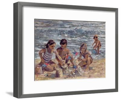 Trouville-Rosemary Lowndes-Framed Giclee Print