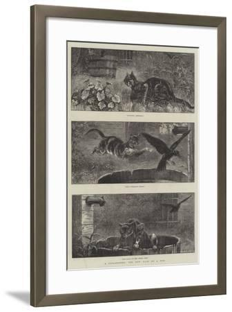 A Catastrophe, the New Tale of a Tub-S^t^ Dadd-Framed Giclee Print