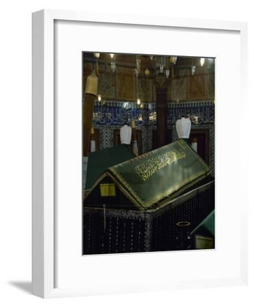 Turkey. Istanbul. Mausoleum of Sultan Suleiman I, by Architect Mimar Sinan- Sinan-Framed Photographic Print