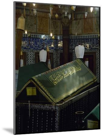 Turkey. Istanbul. Mausoleum of Sultan Suleiman I, by Architect Mimar Sinan- Sinan-Mounted Photographic Print